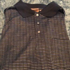 Tasso Elba golf shirt. Size large